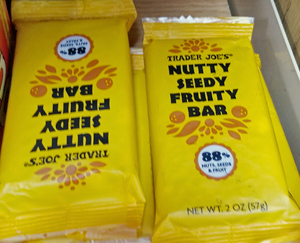 Trader Joe's Nutty Seedy Fruity Bar