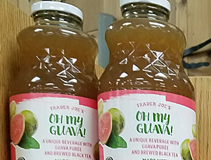 Trader Joe's Oh My Guava Black Tea Beverage
