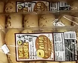 Trader Joe's Onion & Sesame Seed Bagels