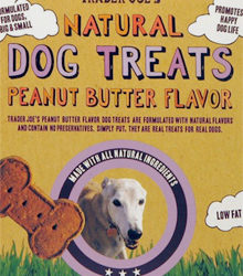 Trader Joe's Natural Peanut Butter Flavored Dog Treats