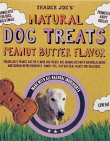 Trader Joe's Natural Peanut Butter Flavored Dog Treats