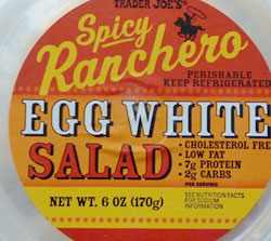 Trader Joe's Spicy Ranchero Egg White Salad