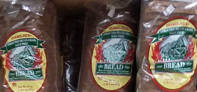 Trader Joe's Sprouted Multi-Grain Salt-Free Bread