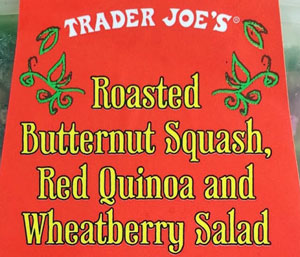 Trader Joe's Roasted Butternut Squash, Red Quinoa and Wheatberry Salad Reviews