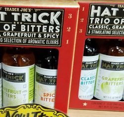 Trader Joe's Hat Trick Trio of Bitters