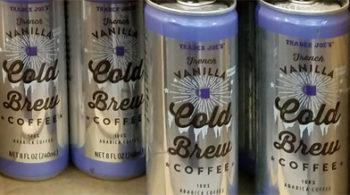 Trader Joe's Vanilla Cold Brew Coffee