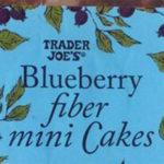 Trader Joe's Blueberry Fiber Mini Cakes