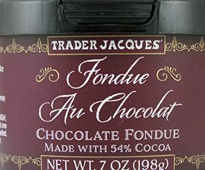 Trader Joe's Fondue Au Chocolat