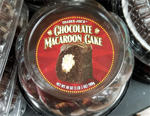 Trader Joe's Chocolate Macaroon Cake