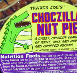 Trader Joe's Choczilla Nut Pie