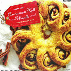Trader Joe's Cinnamon Roll Wreath