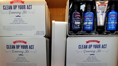 Trader Joe's Clean Up Your Act Grooming Kit