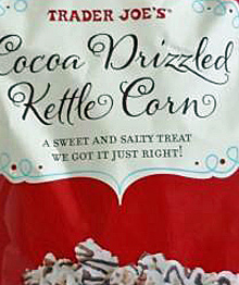 Trader Joe's Cocoa Drizzled Kettle Corn