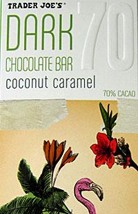 Trader Joe's Coconut Caramel Dark Chocolate Bar