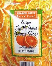 Trader Joe's Crispy Jeju Mandarin Orange Slices