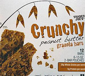 Trader Joe's Crunchy Peanut Butter Granola Bars
