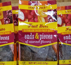 Trader Joe's Fruit Bars Ends & Pieces