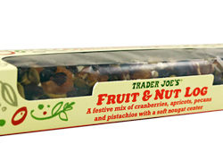 Trader Joe's Fruit & Nut Log