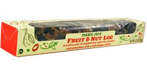 Trader Joe's Fruit & Nut Log