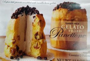 Trader Joe's Gelato-Filled Panettone