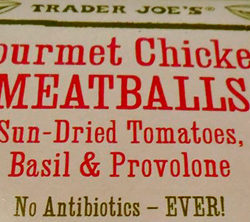 Trader Joe's Gourmet Chicken Meatballs
