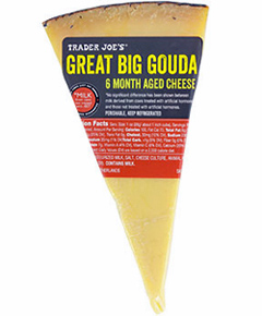 Trader Joe's Great Big Gouda 6 Month Aged Cheese
