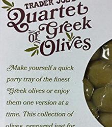 Trader Joe's Greek Olives Quartet