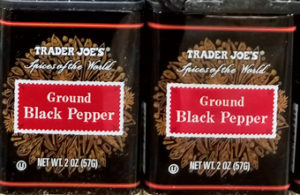 Trader Joe's Ground Black Pepper