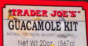 Trader Joe's Guacamole Kit