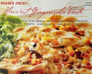 Trader Joe's Harvest Gorgonzola Tarte