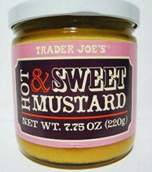 Trader Joe's Hot & Sweet Mustard