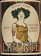 Liberté San Luis Obispo County Pinot Noir
