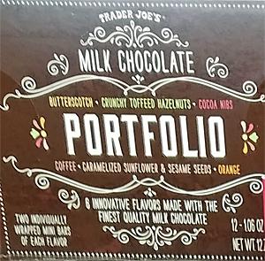 Trader Joe's Milk Chocolate Portfolio