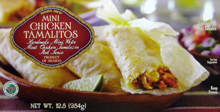Trader Joe's Mini Chicken Tamalitos Reviews