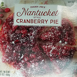 Trader Joe's Nantucket Style Cranberry Pie