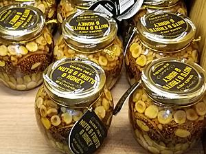 Trader Joe's Nuts & Fruits & Honey Jar