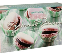Trader Joe's Peppermint Macarons
