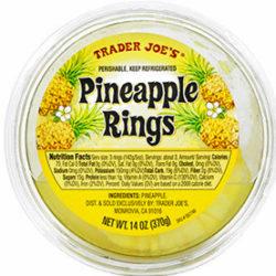 Trader Joe's Pineapple Rings