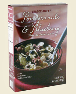 Trader Joe's Pomegranate Blueberry Cereal