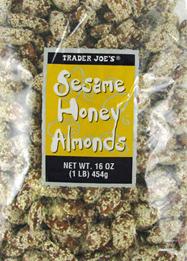 Trader Joe's Sesame Honey Almonds