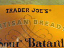 Trader Joe's Sour Batard Bread