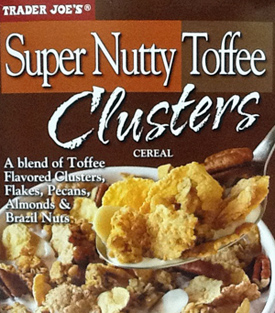 Trader Joe's Super Nutty Toffee Clusters
