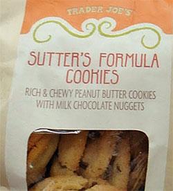 Trader Joe's Sutter's Formula Cookies