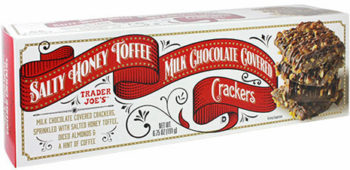 Trader Joe's Honey Toffee Milk Chocolate Covered Crackers