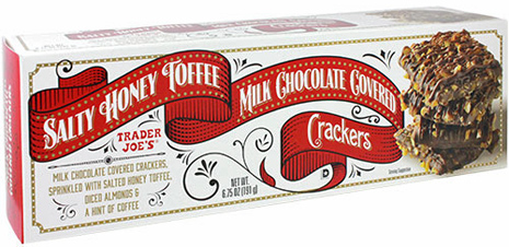 Trader Joe's Honey Toffee Milk Chocolate Covered Crackers Reviews