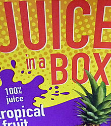 Trader Joe's Tropical Fruit Juice in a Box