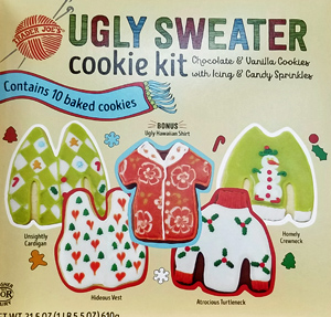 Trader Joe's Ugly Sweater Cookie Kit