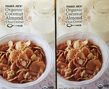 Trader Joe's Organic Coconut Almond Chia Cereal