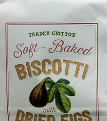 Trader Joe's Soft-Baked Biscotti with Dried Figs