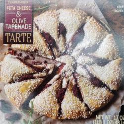 Trader Joe's Feta Cheese & Olive Tapenade Tarte